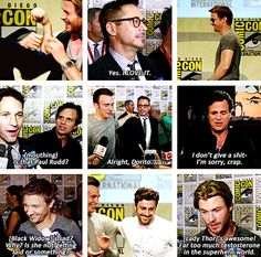 More highlights from the Marvel panel at San Diego Comic Con, July 26, 2014.