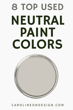 If you're on the hunt for the perfect neutral, you'll find it below in my curated list of 8 of the most popular Sherwin Williams neutral paint colors. Calming Paint Colors, Top Paint Colors, Neutral Paint Colors, Paint Colors For Home, Best Interior Paint, Interior Decorating Tips, Home Building Tips, Hallway Designs, Entry Way Design