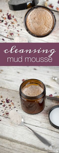 Make your own version of a very expensive shop-bought cleansing mud using simple clays and herbs, and some spices from your kitchen!