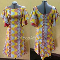 Lovely dress by African Fashion Ankara, Latest African Fashion Dresses, African Print Fashion, Africa Fashion, African Dresses For Kids, African Print Dresses, African Attire, African Wear, Ankara Gown Styles