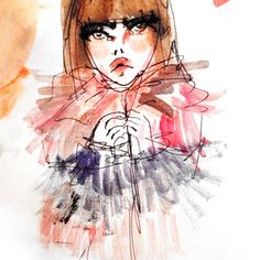 In love with fashion illustrations by Blairz