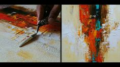 Abstract painting / Anybody can paint / Tools  required - paints , passi...
