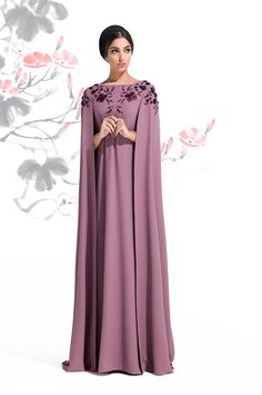 Today here we familiarized long cape abaya collection nice abaya fully covered up your body and you Islamic Fashion, Muslim Fashion, Modest Fashion, Fashion Dresses, Trendy Fashion, Fashion 2020, Style Fashion, Fashion Ideas, Abaya Mode