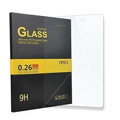 IVSO Prime Protecteur d'Ecran en Verre Trempé pour Samsung Galaxy Tab A 10.1 2016 SM-T580N / T585N Tablette (Tempered Glass – 1 Pack)