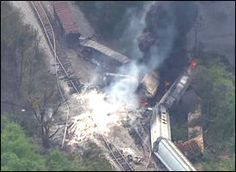 Officials from CSX said the rail lines where a freight train and trash truck collided Tuesday have reopened.