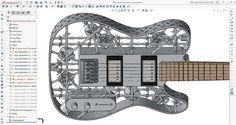 guitare aluminium
