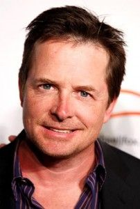 Michael J. Fox....what a man he has turned out to be, I admire him for not letting his disease take him over without a fight and for doing all he can to find a future cure. Not to mention just being a wonderful human being!