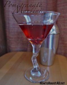 cool Pomegranate Martini Recipe
