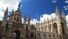 El King's College de #Cambridge posee una espectacular capilla de estilo gótico. http://www.viajaralondres.com/ciudades-para-visitar-cercanas-a-londres/cambridge/ #turismo #viajar #Inglaterra