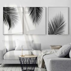 Wall canvas art canvas print waterproof ink perfect solution for small or large spaces home or modern workplace kids room living room welcoming relaxing atmosphere home decor wall art paintings DIY art paintings. - March 16 2019 at Interior, Leaf Wall Art, Home Decor, Black And White Leaves, Room Decor, Living Room Pictures, Wall Painting Decor, Living Decor, Wall Canvas