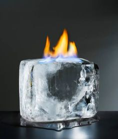 Burning Ice and other fun, safe experiments with FIRE