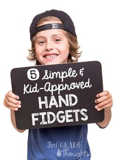 3rd Grade Thoughts: 5 Simple & Kid-Approved Hand Fidgets