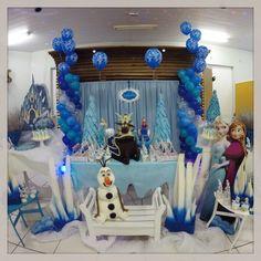 Festa Frozen para a Isabela! #frozen #Anna #Elsa #destaniniza #kidsparty #ratchimbum #novaodessa