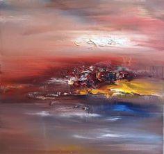"""Saatchi Art Artist Georgi Petrov; Painting, """"Sunset"""" #art"""