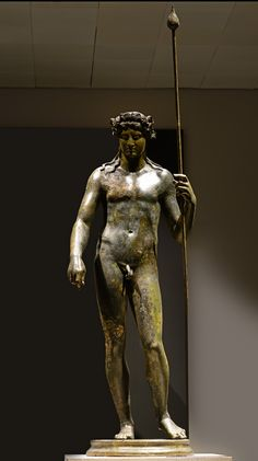 Dionysus. Bronze. 117-138 A.D. Inv. 1060. Rome, Roman National Museum, Palazzo Massimo alle Terme.