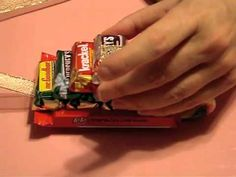"""Candy Sleighs  Watch the """"How-to"""" video at:  https://youtu.be/TgSa6rmpY2k"""