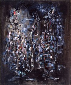 Norman Lewis, Cantata, 1948, oil on canvas.