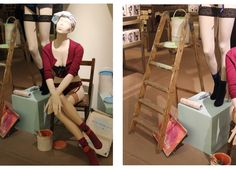 The window shopper - selfridges visual merchandising