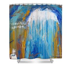 Dream Whispers Shower Curtain by Mary Mirabal