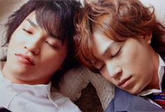 Kis-My-Ft2 Kento Senga and Takashi Nikaido