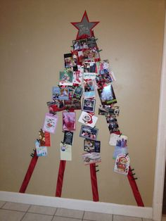 Christmas Card Holder :)
