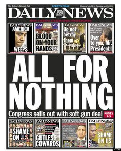 Congress sold out to the NRA. We won't forget.