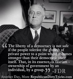 Franklin Roosevelt a man of wealth who believed in American democracy more than how large his bank account was.