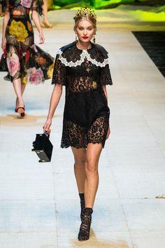 Dolce & Gabbana traz a culinária italiana para o verão 2017 - Vogue | Desfiles