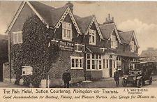The Fish Hotel, Sutton Courtenay, Abingdon On Thames.    1913.