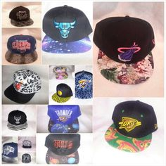 So many fashionable snapbacks - floral print to galaxy to leopard
