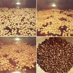 Mein erster im Ofen selbst gerösteter Kaffee ☕ Wie das geht? >> http://bunaa.de/de/selber-roesten/ http://bunaa.de/en/experiment-roasting/  #bunaa #coffee #roasting
