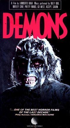 Demons (1985) Directed by Lamberto Bava, son of Italian Horror Maestro/Legend Mario Bava.