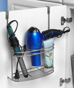 Look at this Satin Nickel Bella Over-the-Cabinet-Door Styling Station on #zulily today!