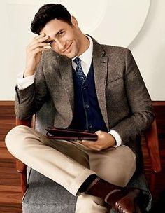 Tweed jacket -The Dapper Gentleman