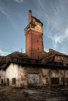 From an abandoned lunatic asylum in Germany by Drippy