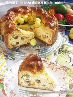 Pastry And Bakery, Special Recipes, Easter Recipes, Cheesecakes, Back Home, Biscotti, French Toast, Food And Drink, Cooking Recipes