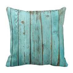 "CiCiDi Turquoise Wood Teal Sofa Decoration Chic Canvas Cotton Throw Pillow Cover 16""x 16"" CiCiDi http://www.amazon.com/dp/B019FC8T9W/ref=cm_sw_r_pi_dp_h4Z4wb0PMW0HA"