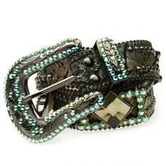 B.B.SIMON BELT 326-B99-BLACK DIAMOND AB BF