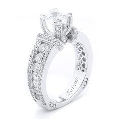 18KTW ENGAGEMENT RING DIAMOND 1.37CT
