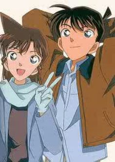 Shinichi kudo & Ran mouri
