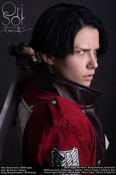 Wings of Counter-Attack Levi - Delusor(Damien) Levi Cosplay Photo - Cure WorldCosplay