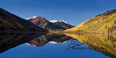 Title:  Colorado Reflections Colorado San Juan Rocky Mountains  © Kathy Weigand  Signed Fine Art Prints and canvas are available at our Western Galleries Store on Etsy.com