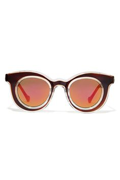 The Clear Pick For Fall's Raddest Sunglasses #refinery29 http://www.refinery29.com/sunglasses-clear-frames#slide4