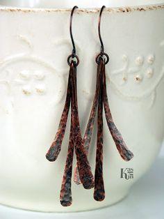 Kashin Jewellery: Sculptum - miedziane kolczyki