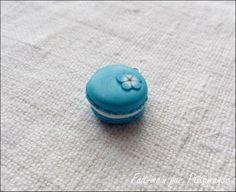 Tuto : comment réaliser un macaron en pâte polymère, par Ptitamande