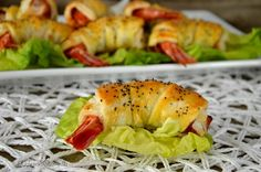 Gamberi in crosta: un delizioso finger food, ideale come aperitivo o per un buffet. Ottimo il sapore dei gamberi misto allo speck.
