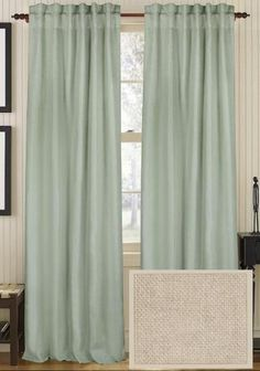 Classic Linen Curtain Panel from Home Decorators