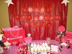 """Photo 13 of 33: American Girl Doll / Birthday """"American Girl Slumber Party"""" 