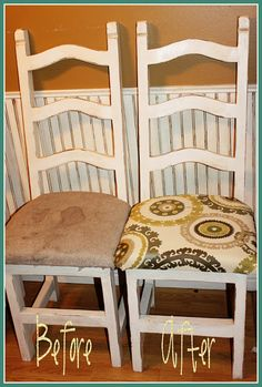 Mockingbird Cottage: Refinished Kitchen Table and Chairs