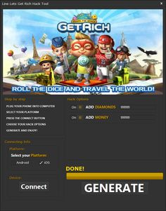 Line Lets Get Rich Hack Game Update, How To Get Rich, Cheating, Ios, Android, Hacks, Let It Be, Hack Tool, Tips